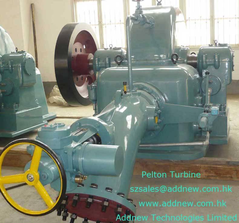 Pelton Hydro Turbines (Impulse Turbines)