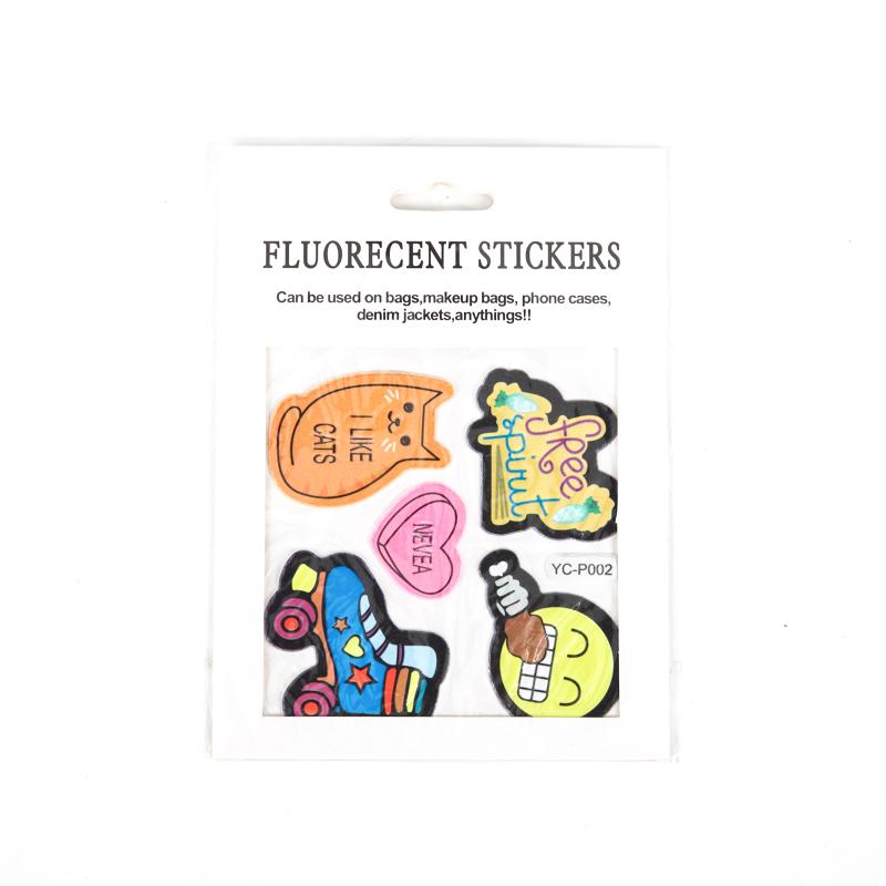 Fluorecent Stickers
