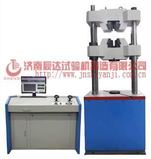 1000KN Computer control servo hydraulic universal testing machine+bolt and nut machines+machiney man
