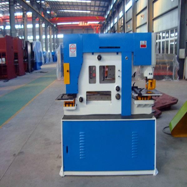 Q35Y-16 Hydraulic Ironworker and punching machine