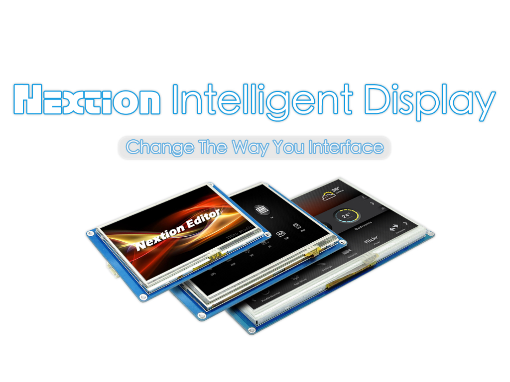 [ Nextion] HMI TFT LCD solution, design slick user interfaces (UI) in minutes