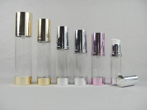 airless bottle,clear bottle,AS bottle,aluminium plastic bottle