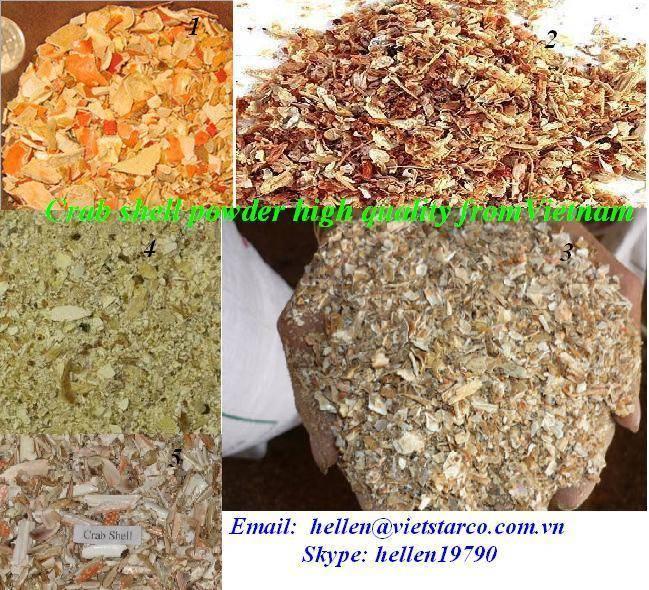 SHRIMP SHELL CRAB SHELL MEAL