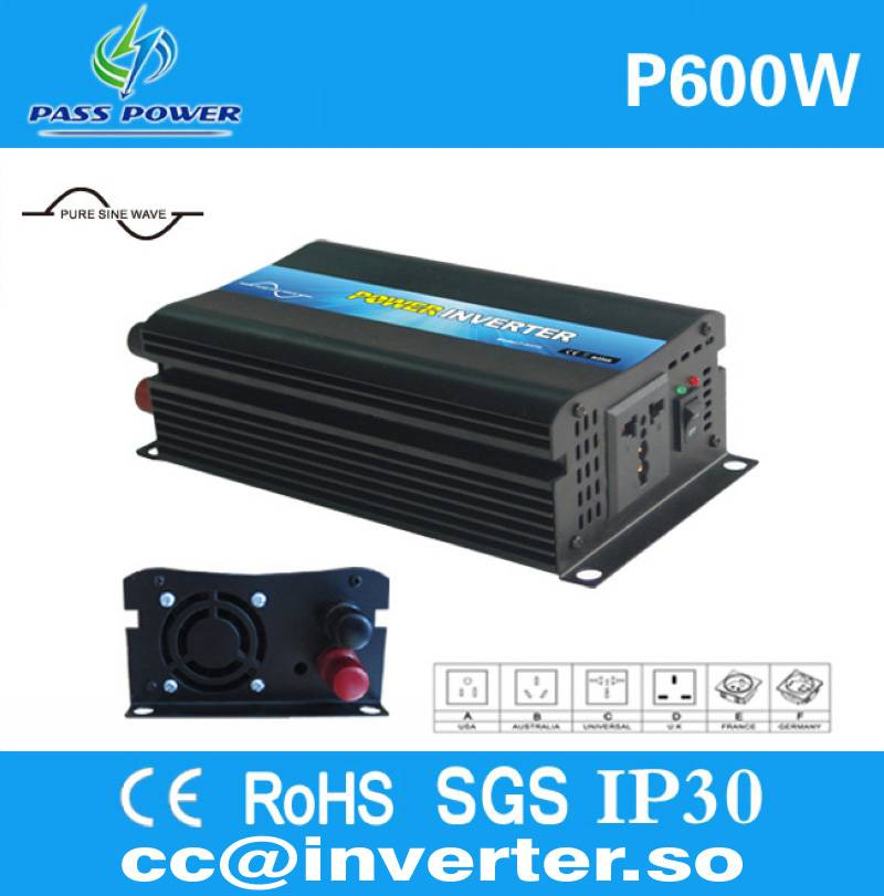 Factory Direct Sell Pure Sine Wave Power Inverter 600W