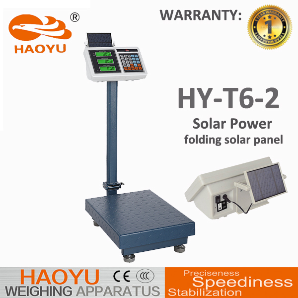 Industrial Waterproof Technolody Solar Digital Weighing Scale