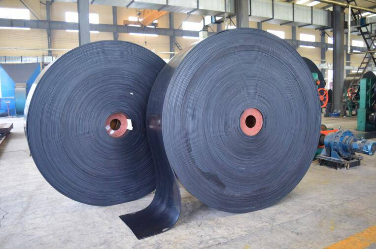 heat resistent rubber conveyor belt