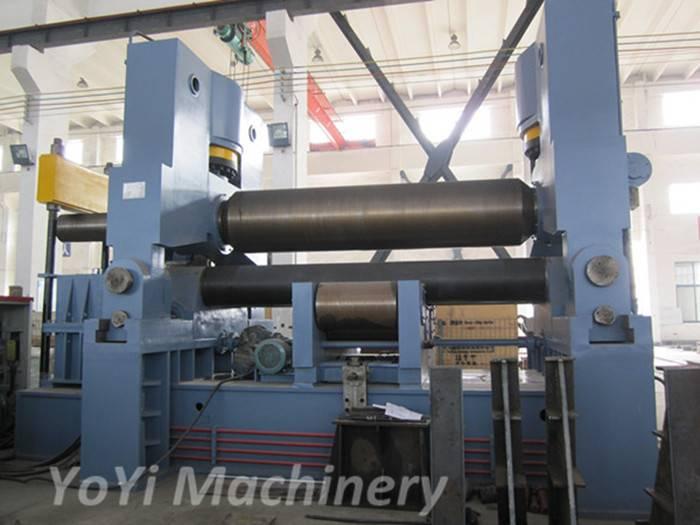 W11S-50mm 3200mm cnc hydraulic plate rolling machine