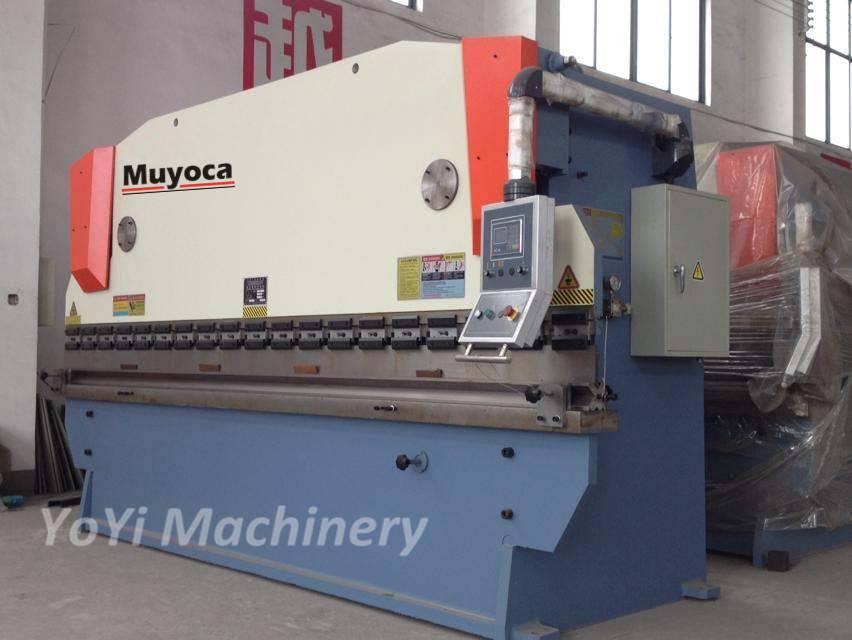 400T/4000mm hydraulic press brake