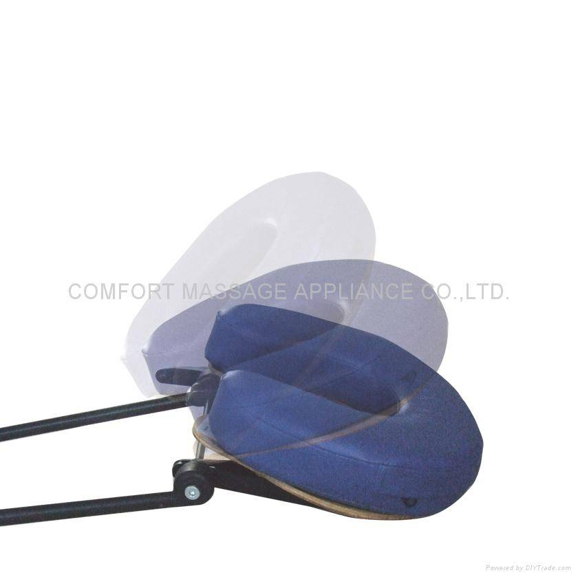 Accessories, adjustable, headrest for massage table
