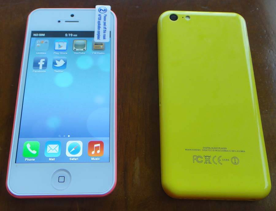 2013 Newest mobile phone I5C with MTK6572 Android 4.2 Single SIM card