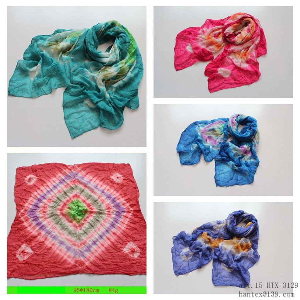 lady's spring scarf