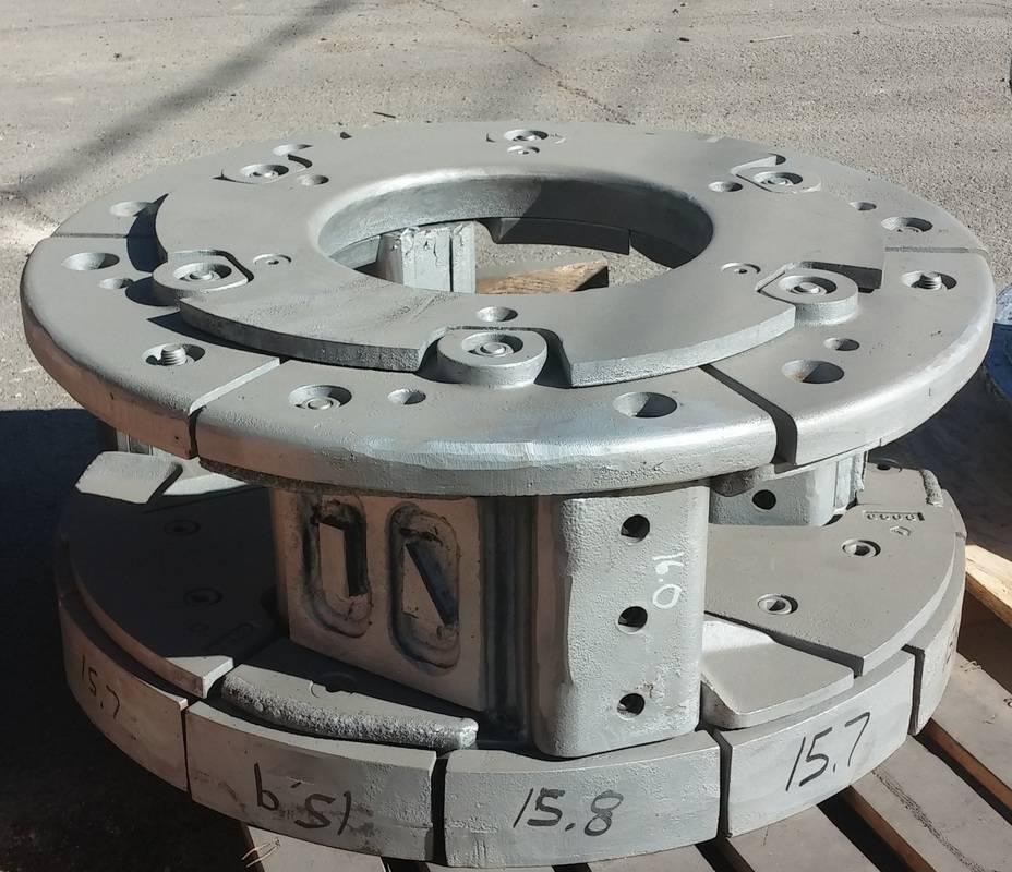 VSI impactor parts, impeller, vsi impactor rotor