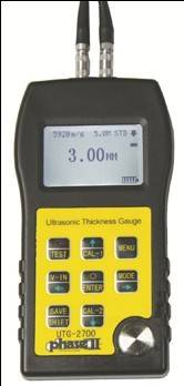 Ultrasonic Thickness Gauge w/ Thru Coating Capabilities UTG-2700