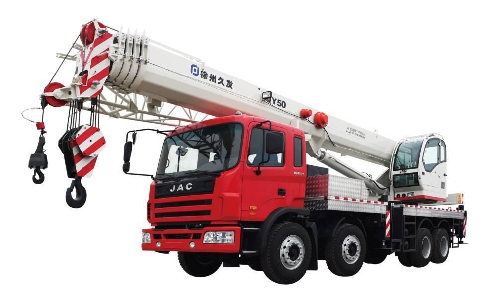 50ton truck crane (JAC chassis)