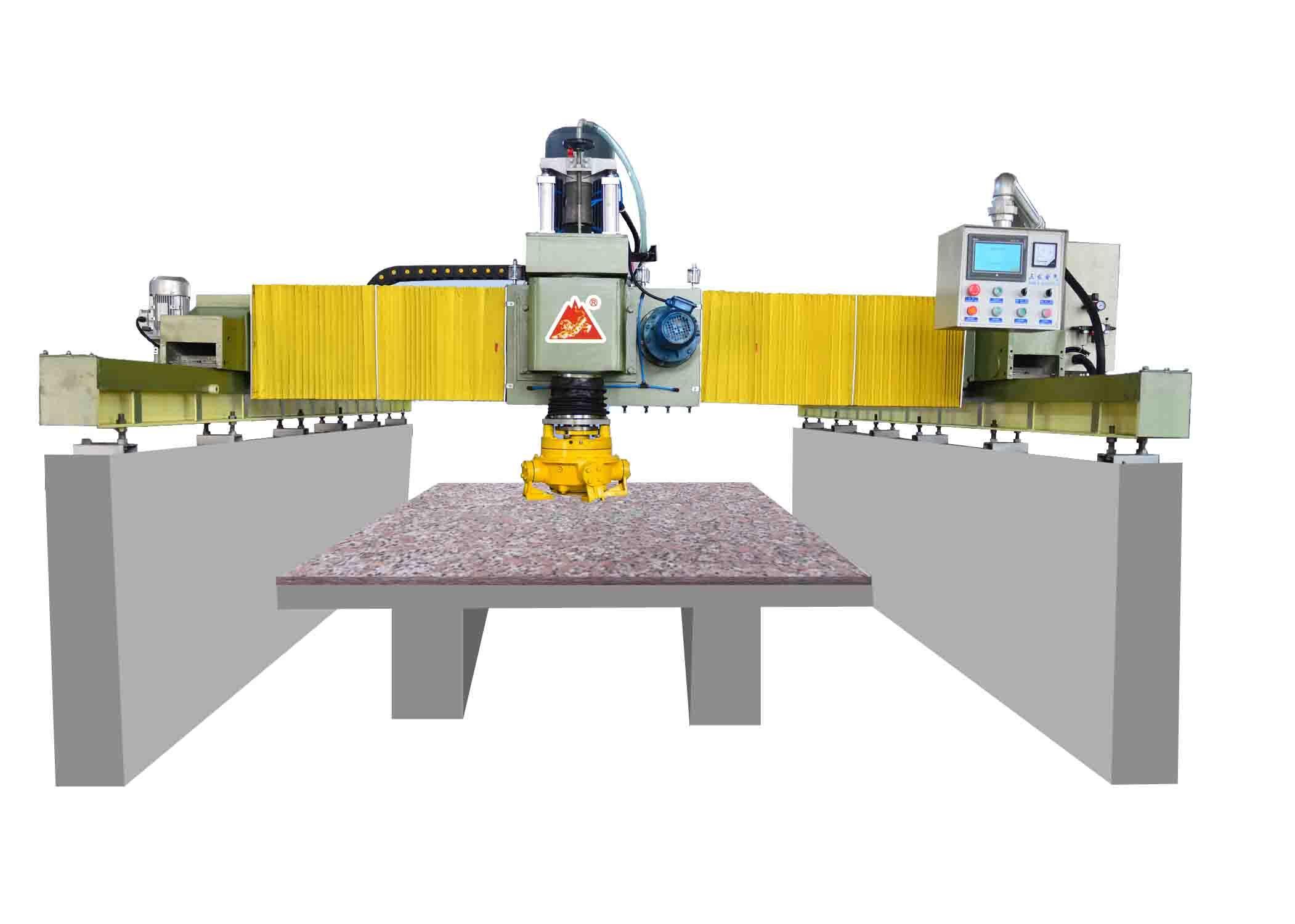 stone machine of bridge type single-head grinding and polishing machine