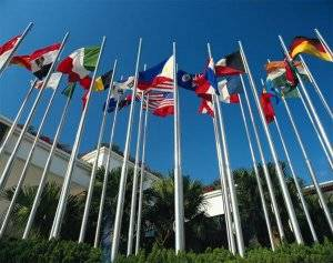 Tapered Flagpoles, stainless steel or aluminium