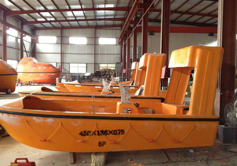 Factory Price Open Life Boat Solas approved 30 persons