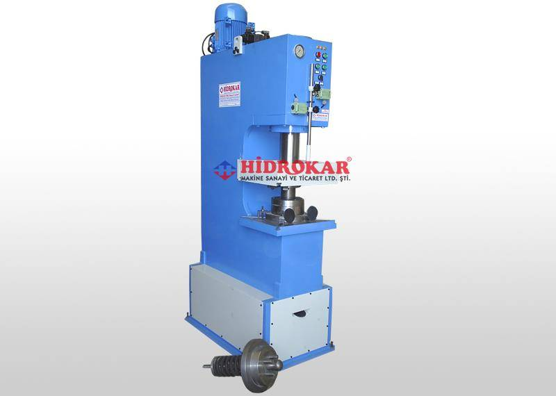 hydraulic c frame press machine 150 tons full automatic