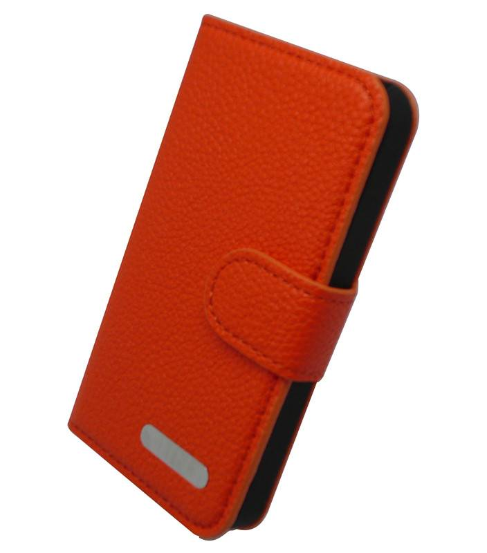 Leather Cases for iPhone 4/4S, PC + PU Leather, OEM and ODM Orders are Accepted