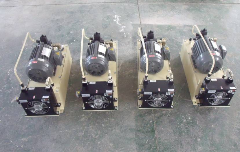 elevator hydraulic power pack hydraulic power unit air coolor pump motor