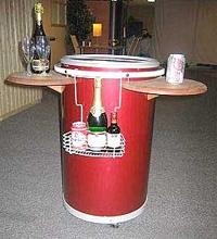 barrel-shaped cooler