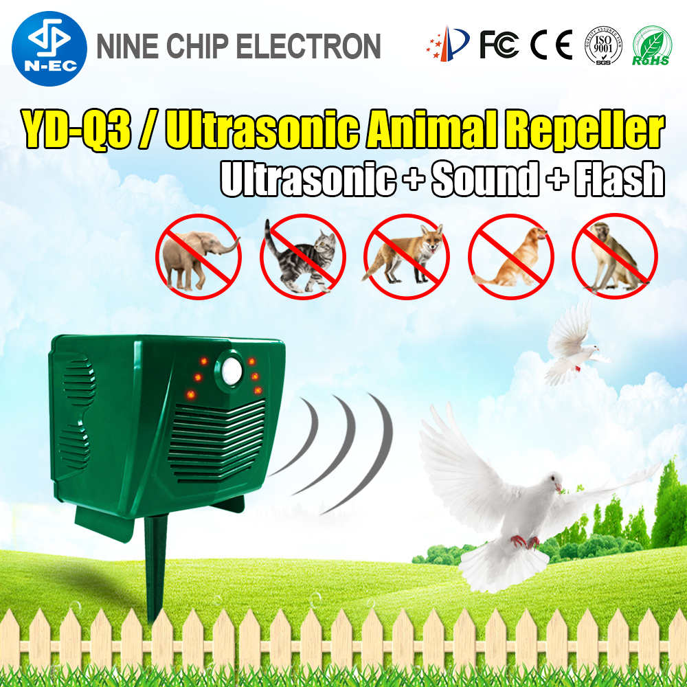Ultrasonic Bird Scarer Professional robin device