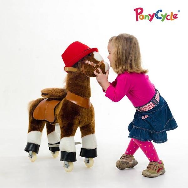 plush horse walking horse toy
