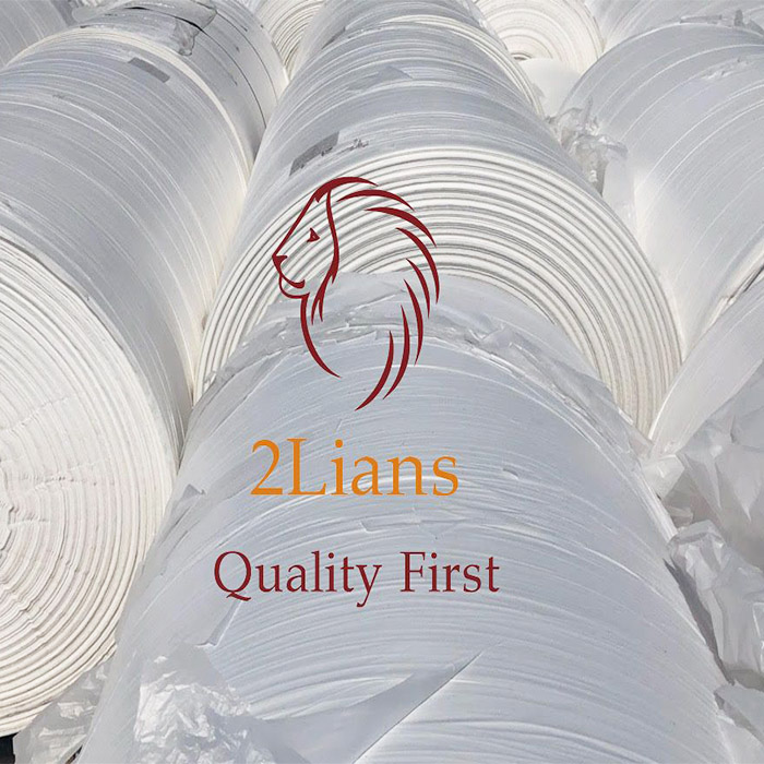 Film Roll HDPE Blowing Natural Industrial Waste