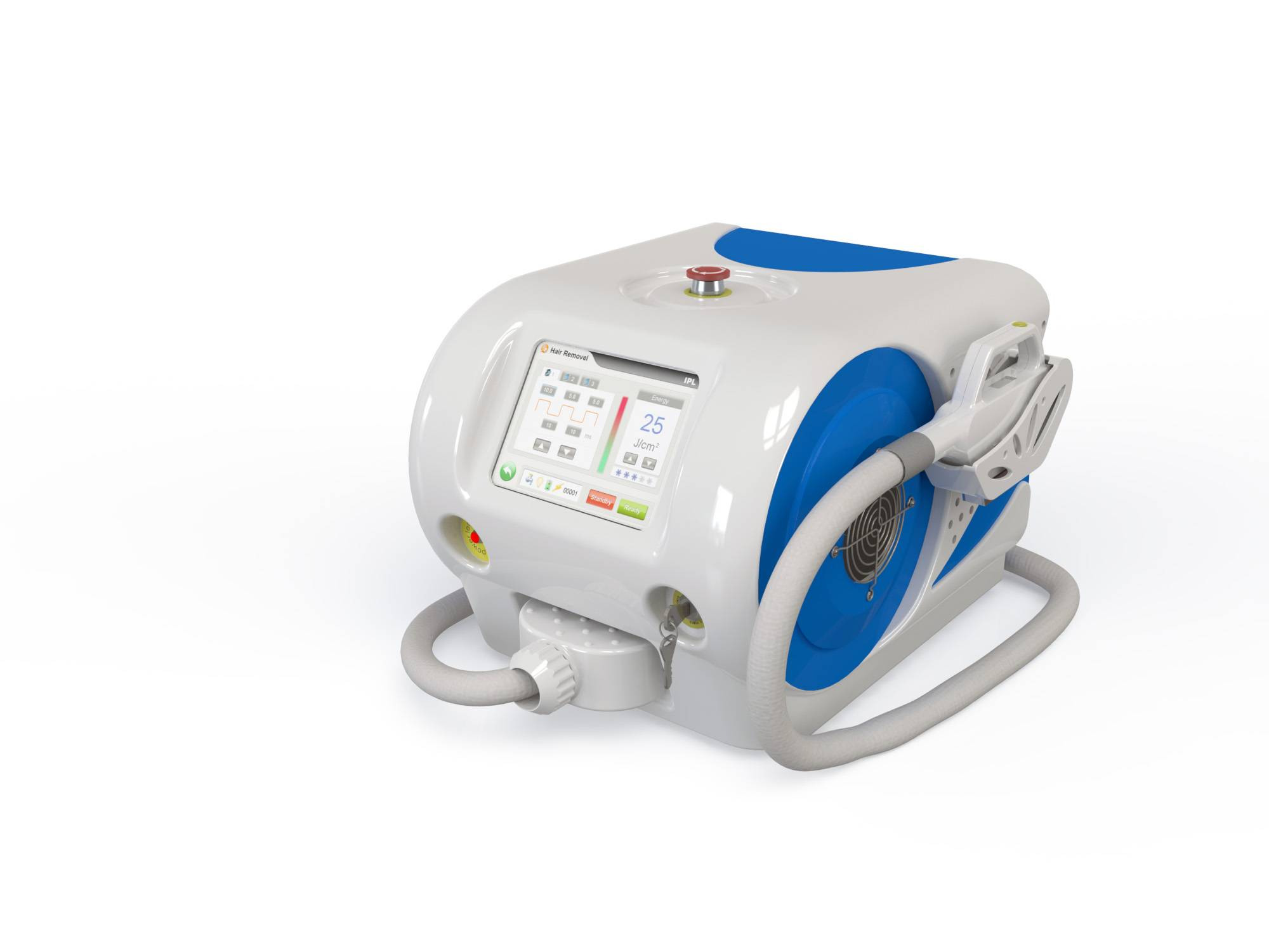 provide portable IPL for hair removal