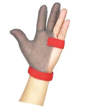 metal mesh safety gloves