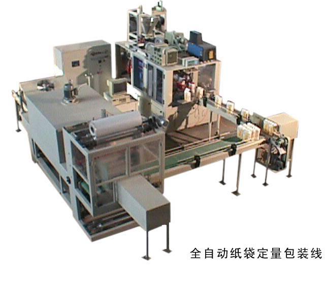 Automatic Paper Bag Flour Packing Machine