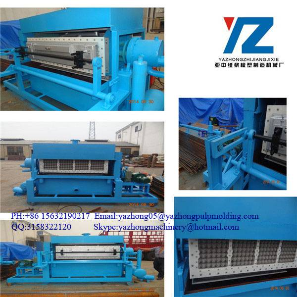 paper pulp egg carton tray making machine