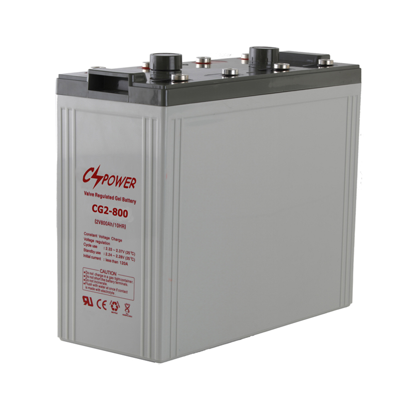 2v 800Ah Deep cycle gel battery bank for home solar power systems