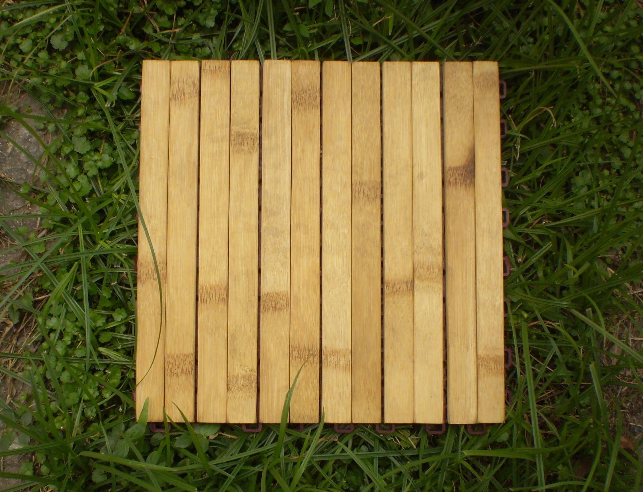 Bamboo decking Tile Outdoor
