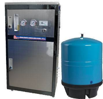 Luxury stainless steel commercial RO water purifier (QSW-CMC2)