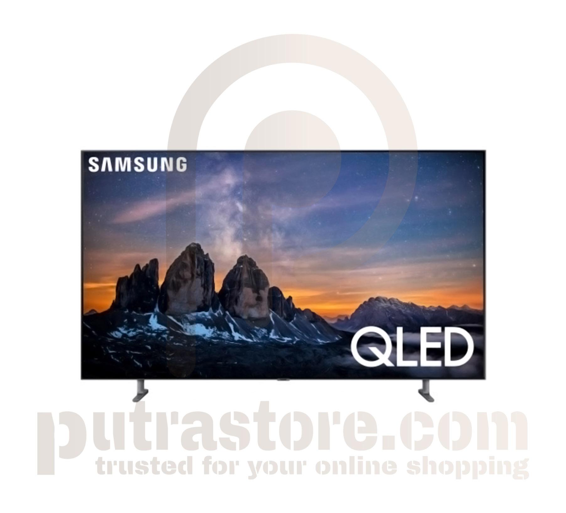 "New Samsung Q80R 65"" Carbon Silver QLED 4K UHD Smart HDTV"