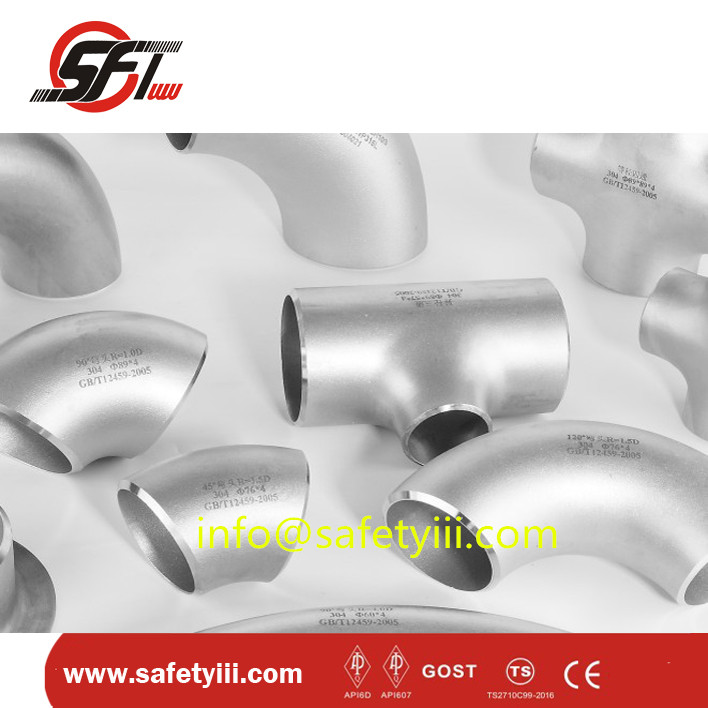 pipe fittings LR 90 degree elbow