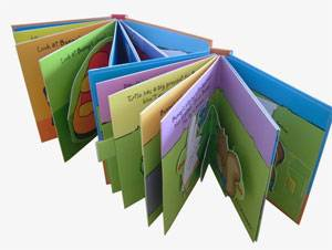Children's Book Printing,Pop-up Book Printing in China