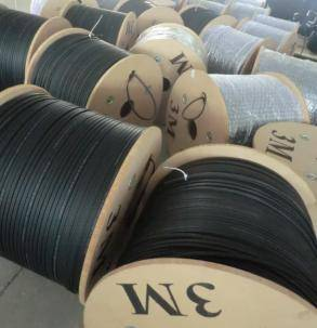 mainly fiber optic cable
