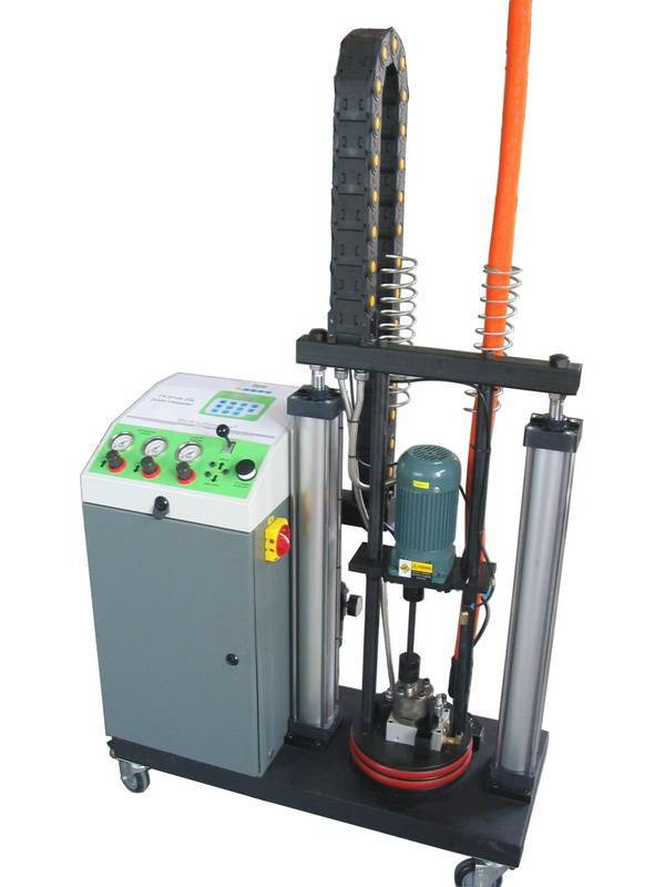 TechAdhesion hot melt coating machine