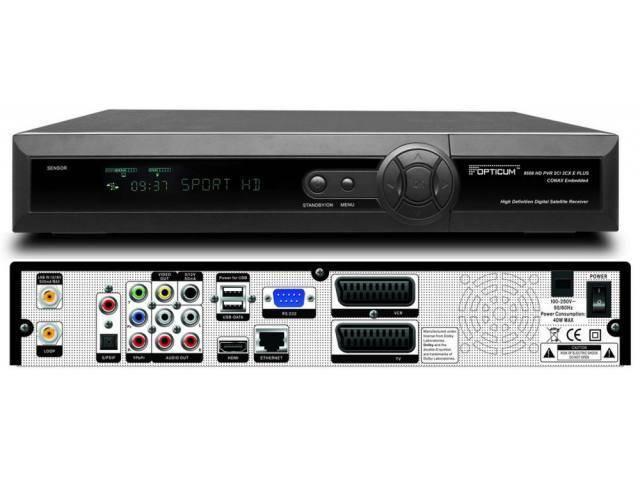 Opticum 9500 HD / Globo 9500HD / Orton 9500HD / Globo Reciver