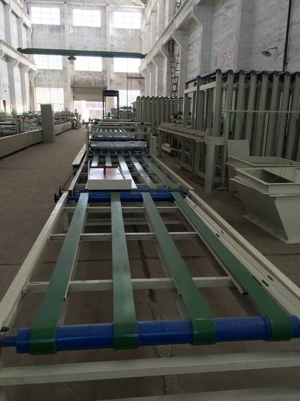 Magnesium Oxide Board Production Line / Wall Panel Manufacturing Equipment
