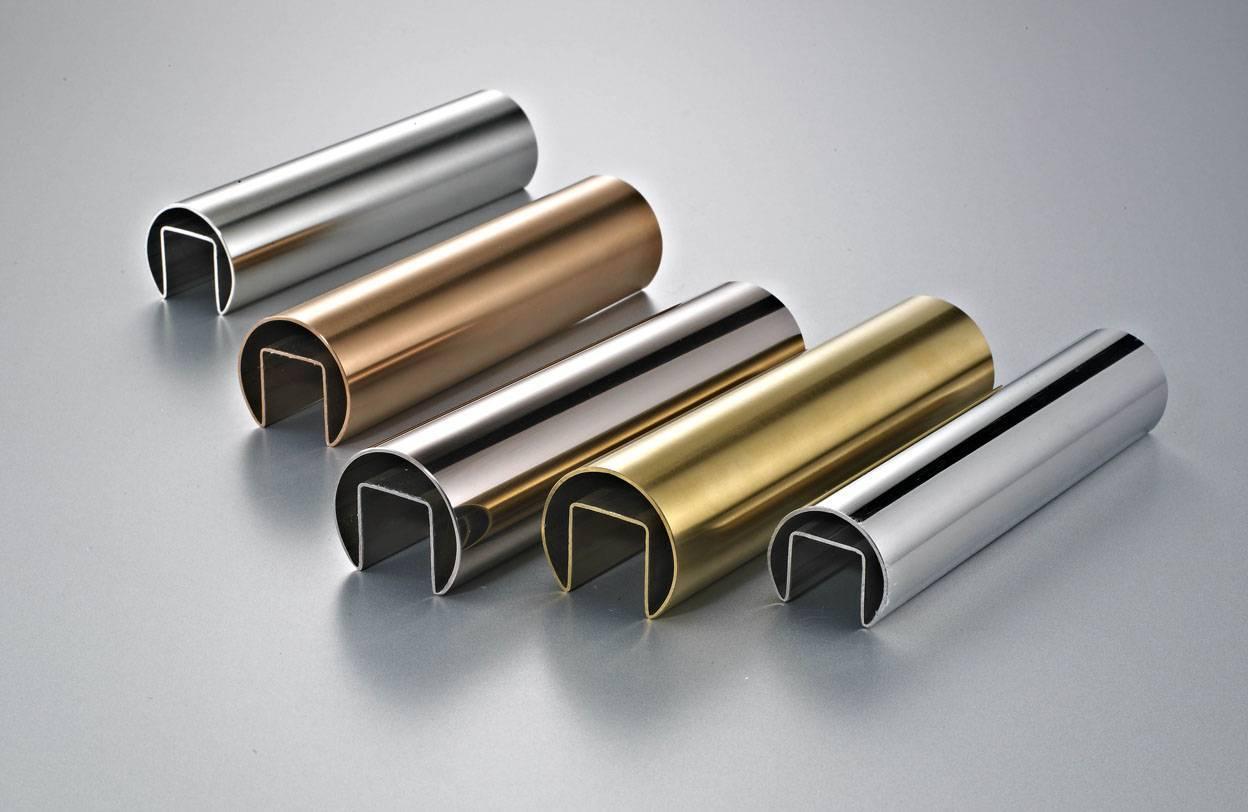 Stainless steel Single-slot round tube