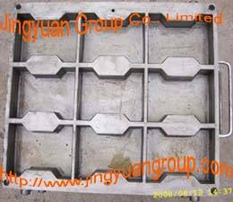 offer various rubber tile moulds(taking I-shaped as a example)