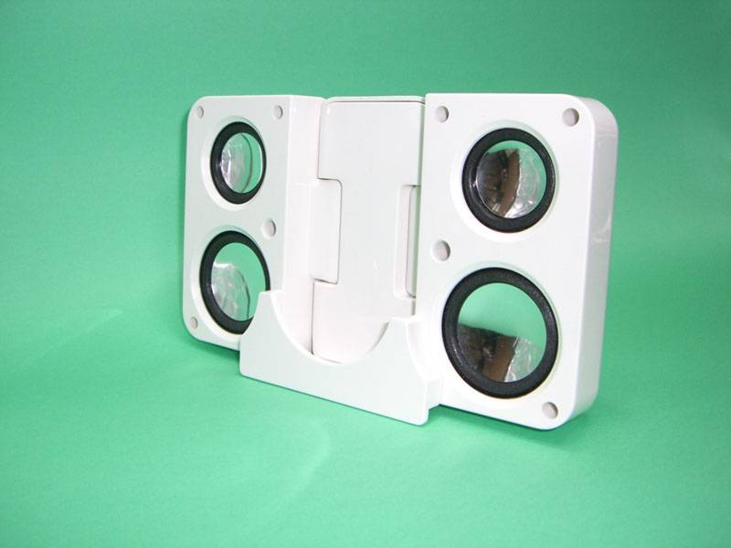 Double Folding Speakers,USB MP4 Speakers