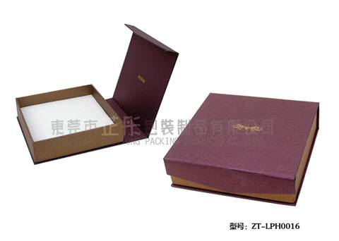 luxury flip gift paper box