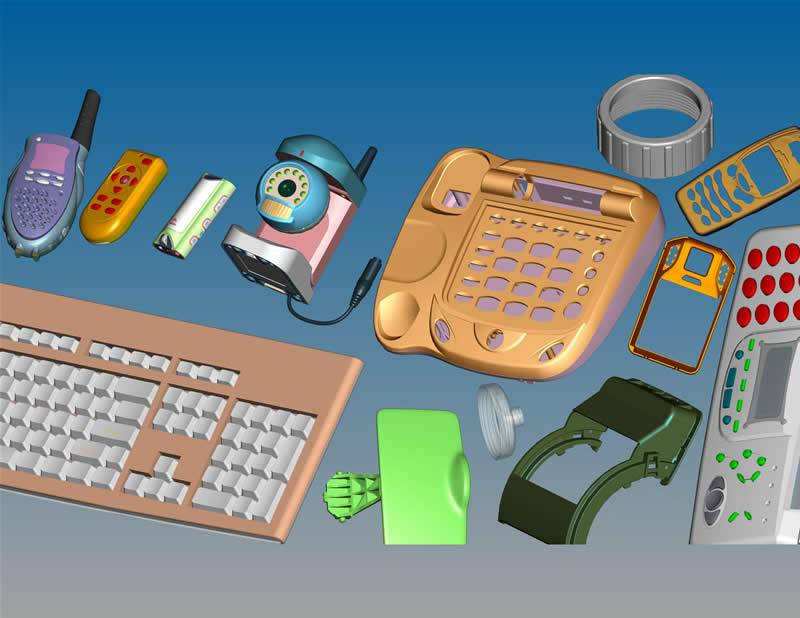 Plastic Mould For Telephone