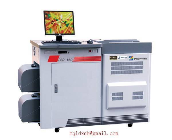 Color lab minilab( PSD-16C) 10 by 16 inch (254 by 406 mm)