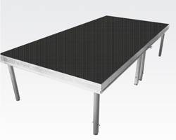sell aluminium stage , mobile stage
