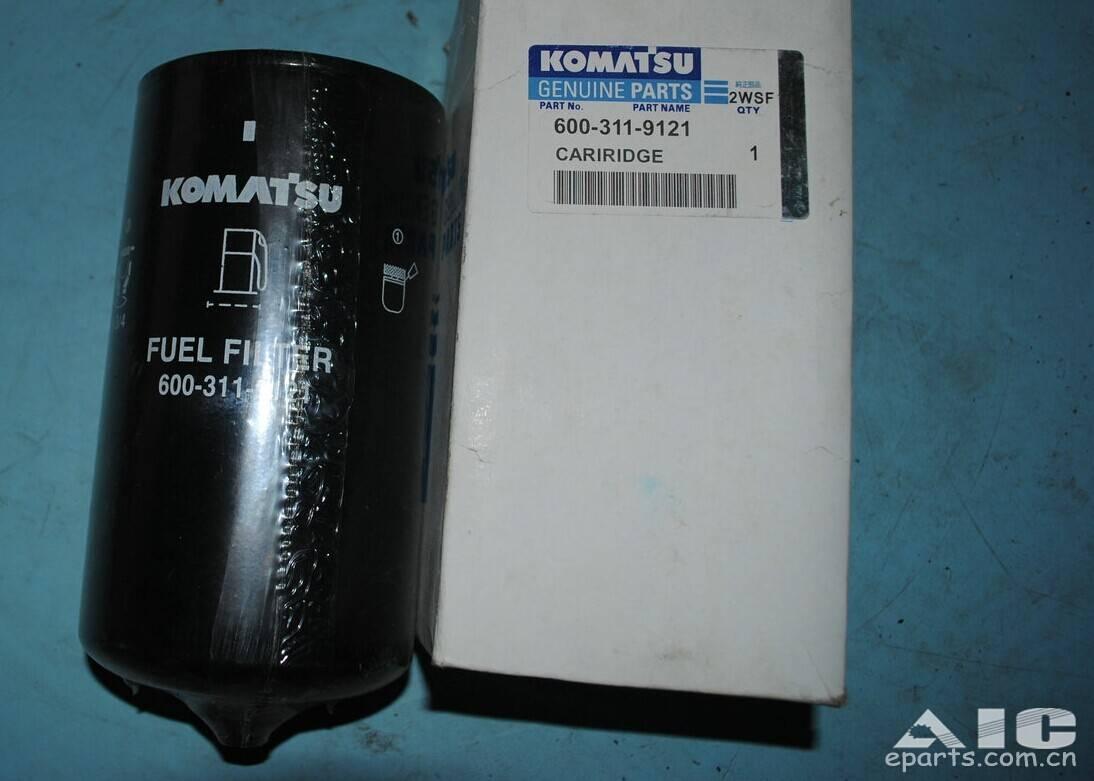 Komatsu Fuel Filter Replacement 6003119121
